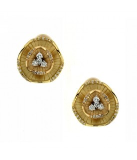 Orecchini con Diamanti 0,34 ct