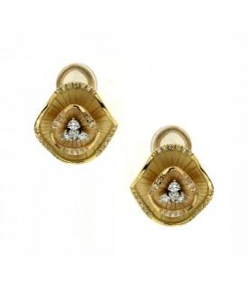 Orecchini con Diamanti 0,34 ct