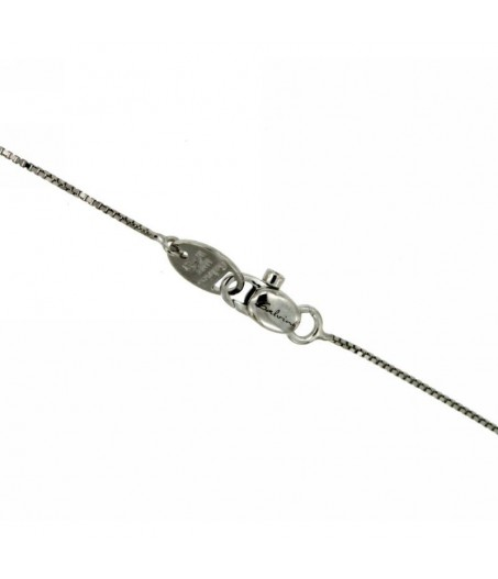 Collana Croce con Diamanti 0,13 ct