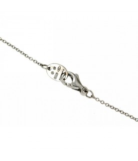 Collana con Diamanti 0,28 ct e Smeraldi 0,38 ct