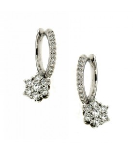 Orecchini con Diamanti 0,69 ct