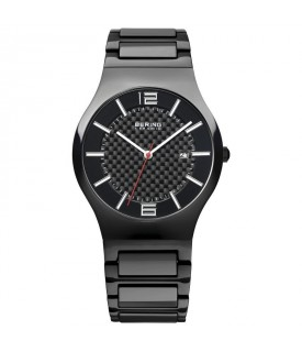 Bering High Tech Ceramic nero 39mm