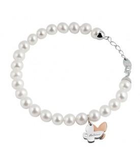 Bracciale Minimal perle Ext Farfalla