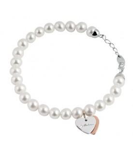 Bracciale Minimal perle Ext Cuore