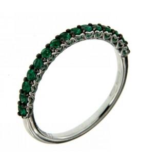 Anello Vera con Smeraldi 0,30 ct