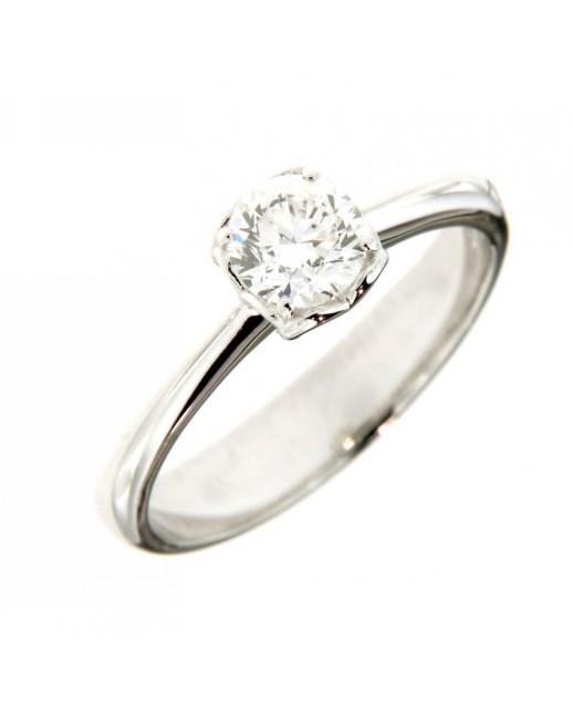 miglior valore 2351c 71650 Anello Solitario con Diamanti 0,61 ct