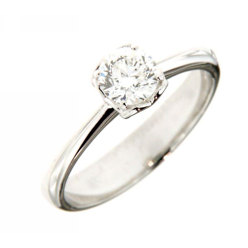 Anello Solitario con Diamanti 0,61 ct
