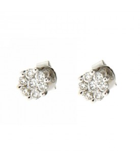 Orecchini con Diamanti 0,42 ct
