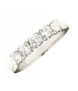 Anello Vera con Diamanti 0,90 ct