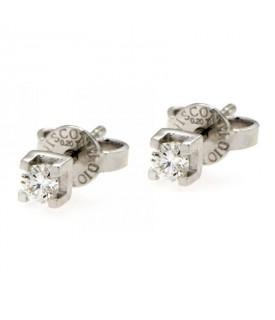 Orecchini con Diamanti 0,20 ct