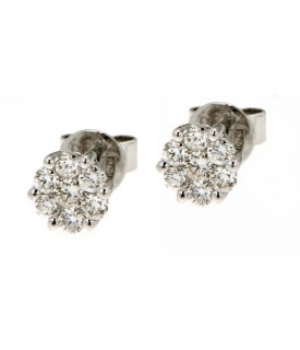 Orecchini con Diamanti 0,39 ct