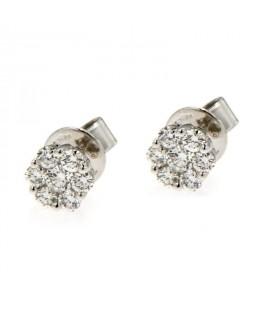 Orecchini con Diamanti 0,32 ct