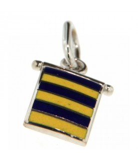 Bandiera Nautica in oro bianco