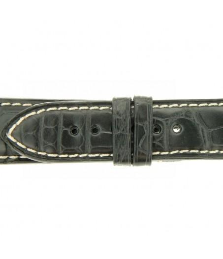 Cinturino Cocco Tazio Nuvolari 20mm nero