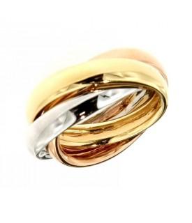 Anello tre colori dell'oro