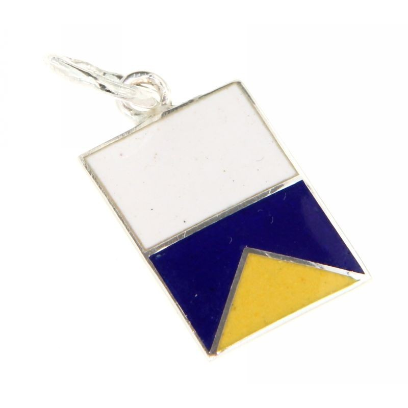 Bandiera Nautica in argento