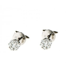 Orecchini con Diamanti 0,16 ct