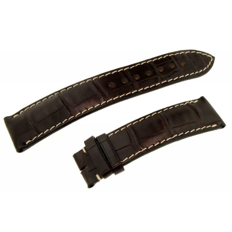 Cinturino Alligatore Master Collection Marrone