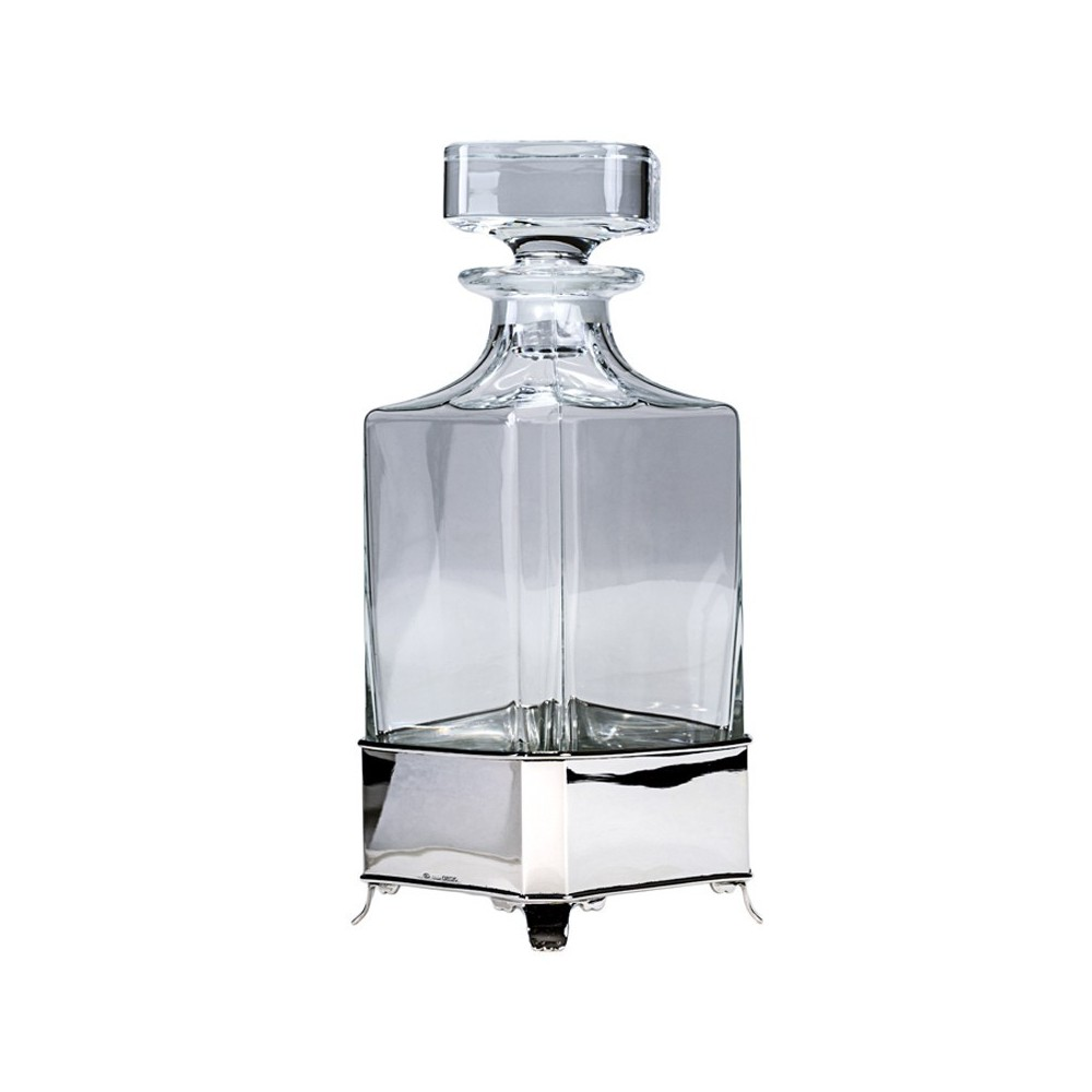 Squared decanter stand