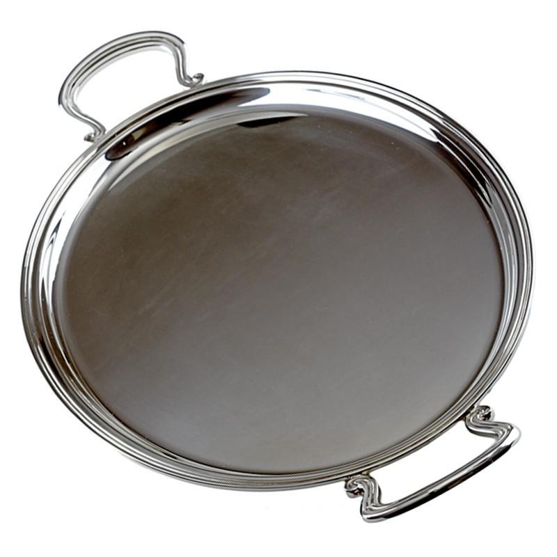 Vassoio ovale in argento inglese