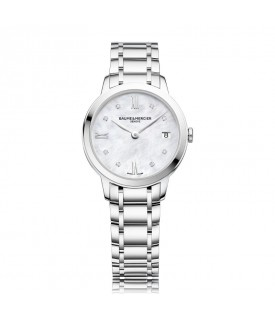 Classima Quarzo 31mm Madreperla e Diamanti