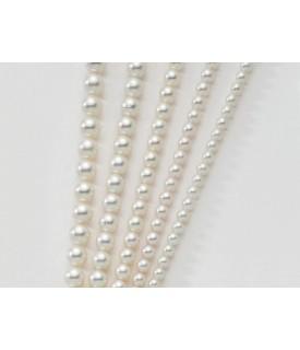Bracciale perle Colore Bianco 6-6,5