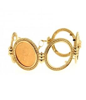 Bracciale portasterline in oro