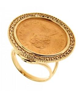 Anello portasterline in oro