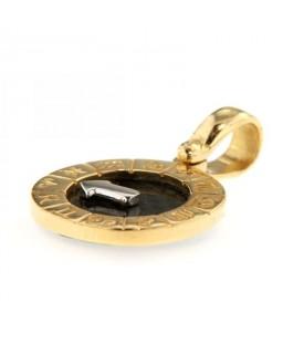 Medaglia Zodiaco in Oro Giallo