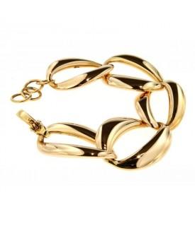 Bracciale a catena in Oro giallo