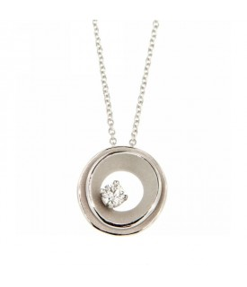 Collana Dune con Diamanti 0,15ct