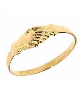 Anello mani di Santa Rita piccolo