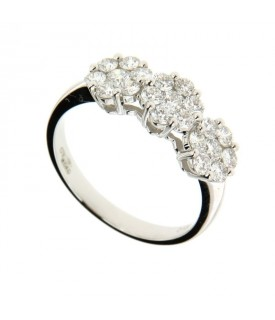 Trilogy di Diamanti 1,00ct