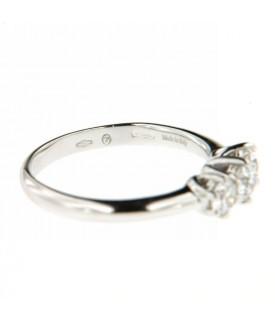 Anello Trilogy con Diamanti 0,60 ct