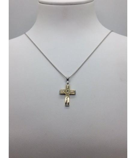 Ciondolo Croce Oro