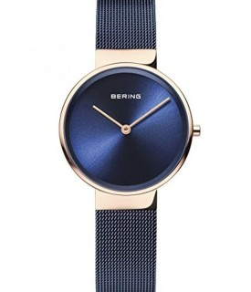 Bering, orologio Classic Collection Donna blu 33mm