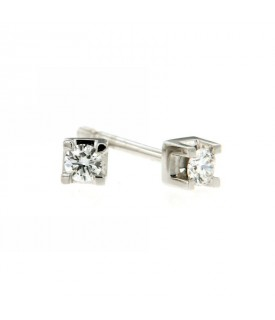 Orecchini in Oro con Diamanti 0,13 ct