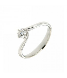 Anello Solitario Diamante Anniversary 0,36 ct