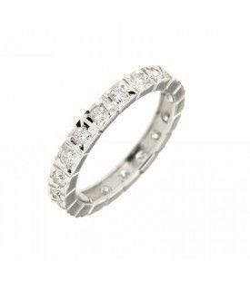Anello girodito Diamanti 0,67 ct