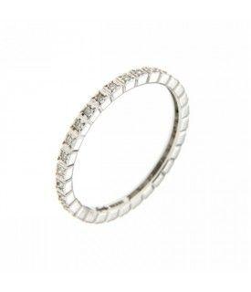 Anello girodito Diamanti 0,15 ct
