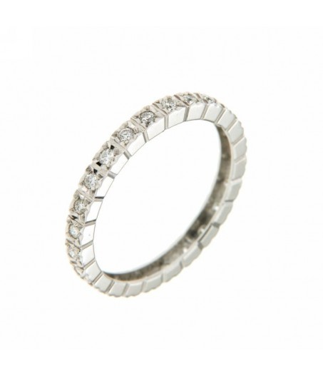 Anello girodito Diamanti 0,35 ct