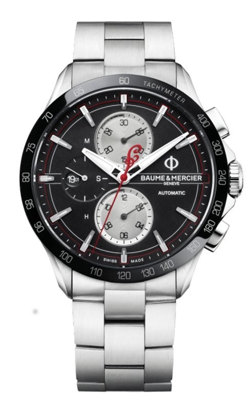Clifton Crono Auto 44mm Nero