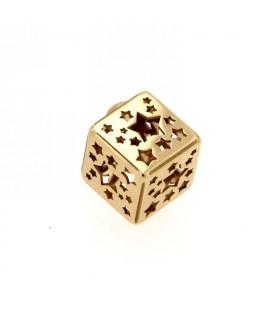 Ciondolo cubo Oro giallo