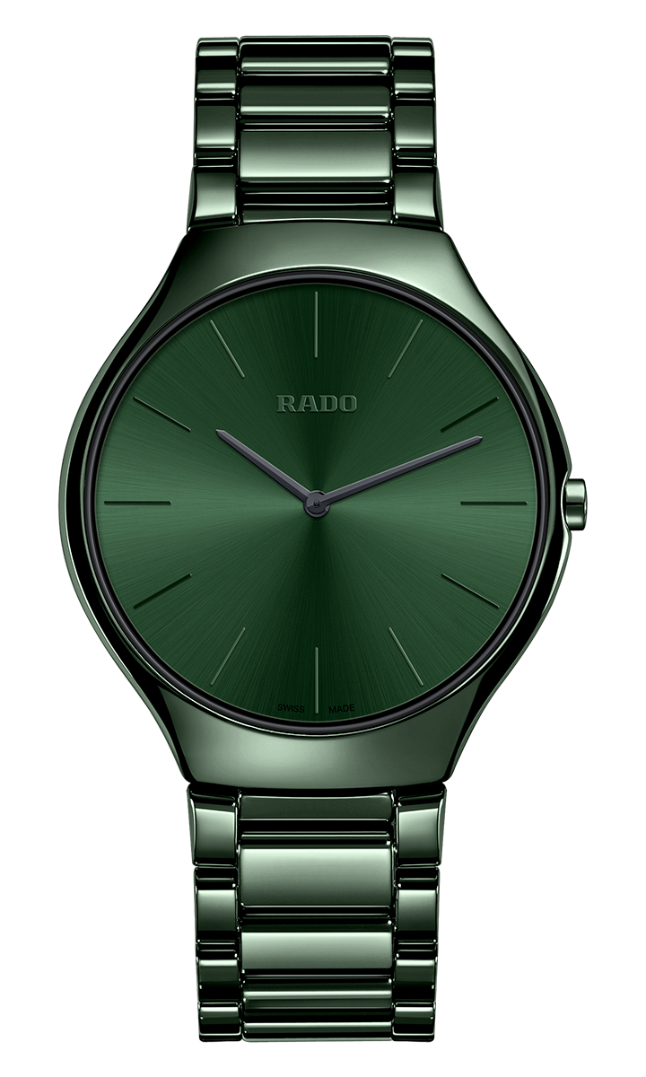 True Thinline Quarzo 39mm verde
