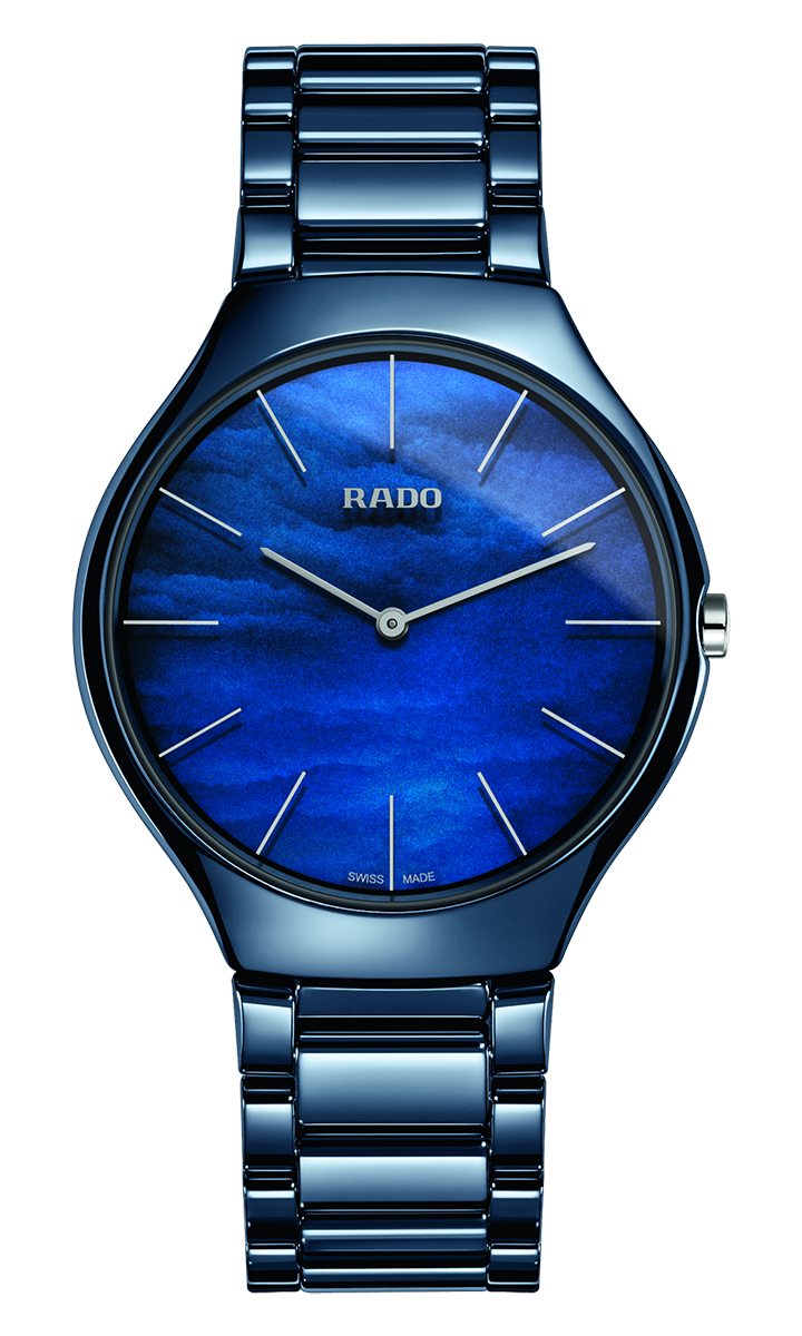 True Thinline Quarzo 39mm blu