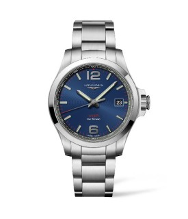 Conquest Quarzo VHP 41mm Blu