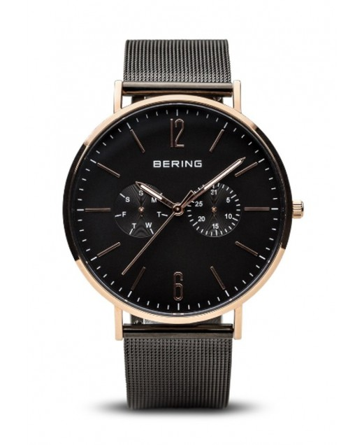 Bering Classic Collection Uomo nero 40mm