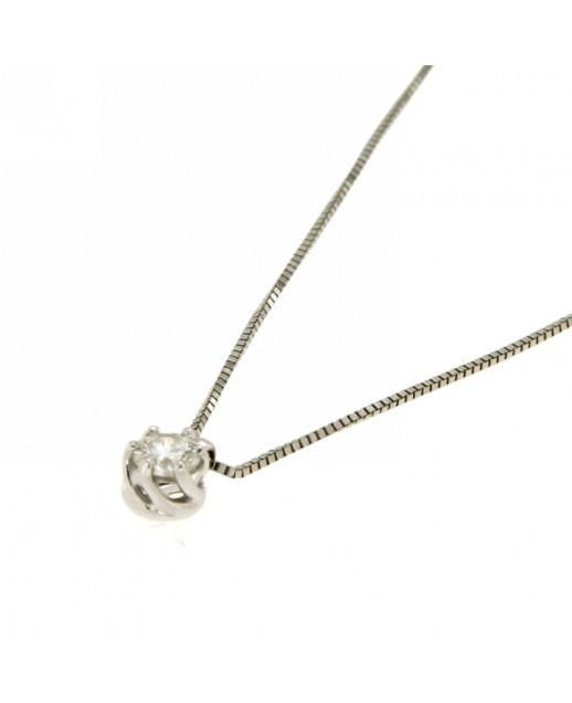 Collana Lavinia con Diamanti 0,16 ct