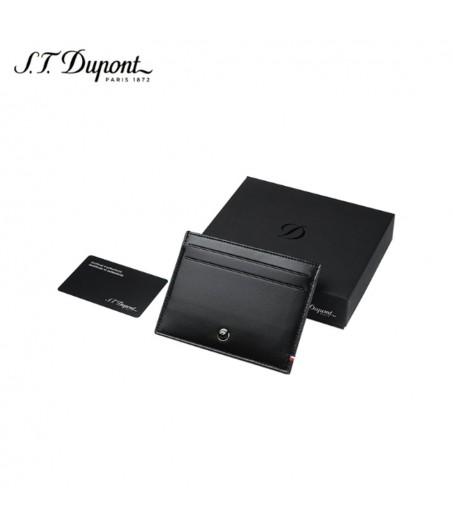 D-Line porta documenti e carte di credito nero S.T. Dupont 4ed472dcb21