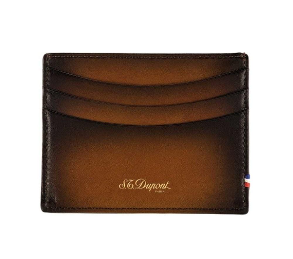 Dupont Atelier porta carte di credito oro